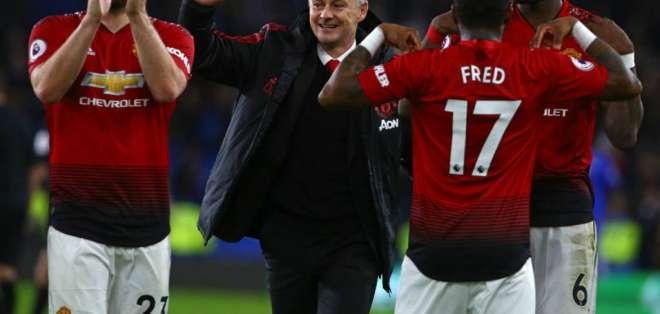 Ole-Gunnar Solskjaer, entrenador del Manchester United.