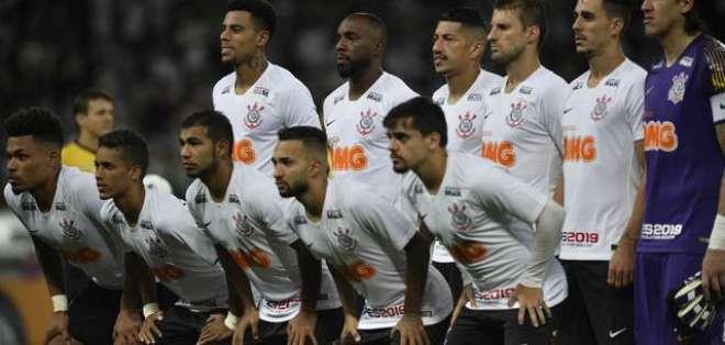 Corinthians previo a un partido oficial.