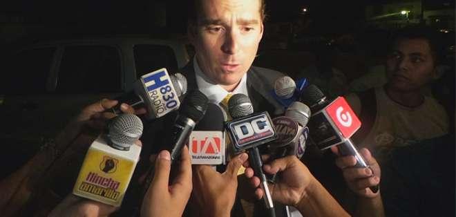 El abogado Leonardo Stagg Peña, exdirectivo de BSC.