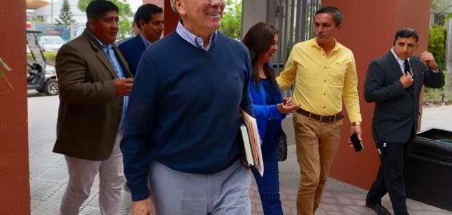 Así lo confirmó el dirigente Óscar Garzón quien agregó que nadie del directorio renunció. Foto: API