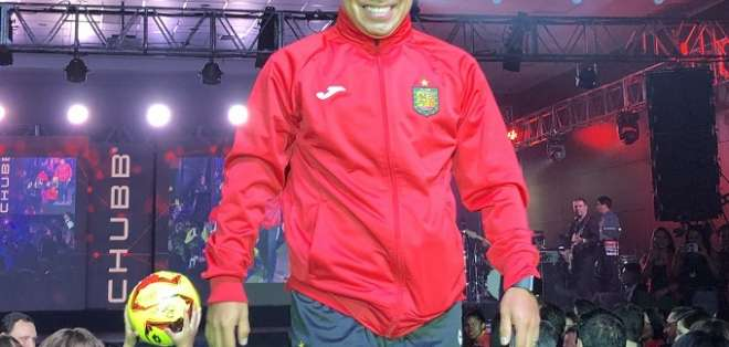 Jonny Uchuari, jugador de Deportivo Cuenca