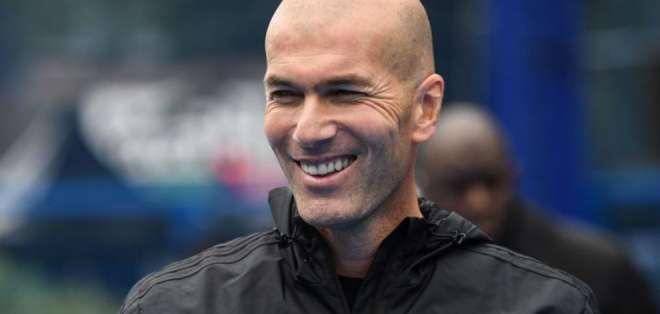 Zinedine Zidane, entrenador francés.