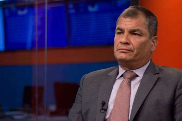 Rafael Correa pidió asilo en Bélgica en junio de 2018