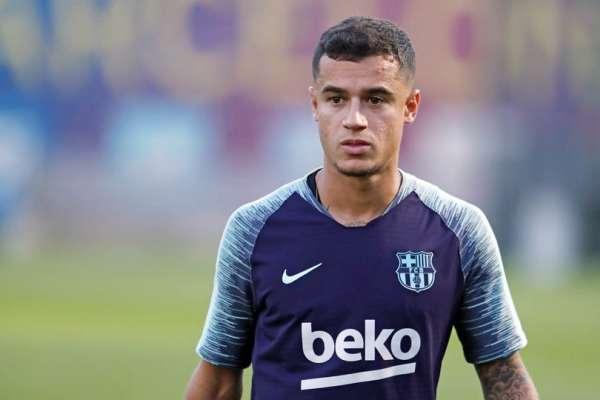 Coutinho se ausenta del Barça por lesión