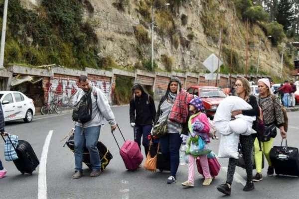 Ecuador promueve protección de migrantes venezolanos