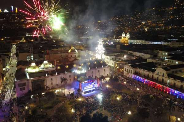 Quito vive sus fiestas por los 484 años de fundación