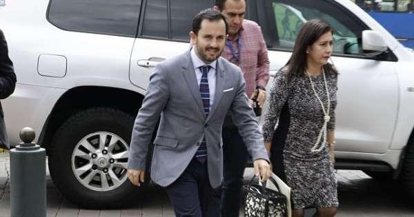 Iván Granda estrena la secretaría Anticorrupción
