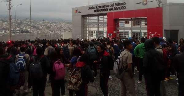 Estudiantes en Loja exigen mayor atención en unidad del milenio