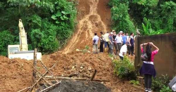 Deslave obstaculizó la vía Babahoyo - Guaranda