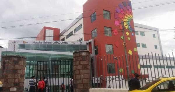 Hombre se lanzó de la terraza de hospital en Latacunga