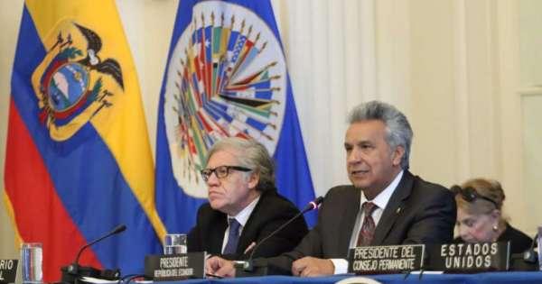Moreno: nuestras democracias siguen bajo amenaza
