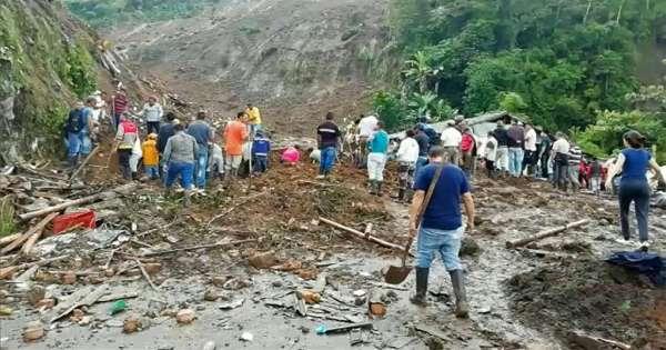 Deslave deja al menos 14 muertos en Colombia