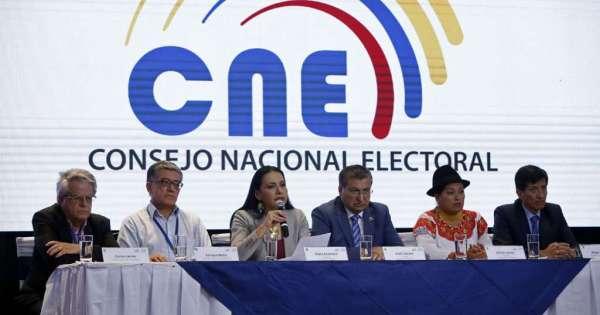 CNE entregará el lunes credenciales a nuevo Cpccs