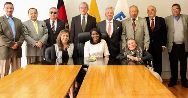 Fiscal Salazar recibió a integrantes de la CNA