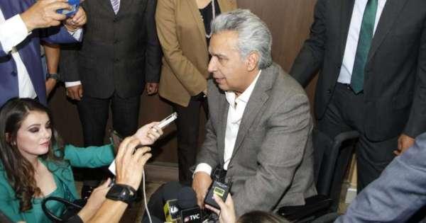 Presidente Moreno visita a Julio César Trujillo