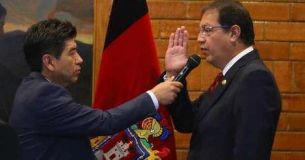 Guarderas es designado vicealcalde de Quito