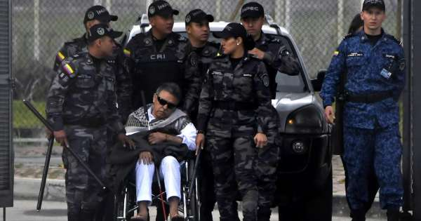 Exjefe de FARC, recapturado a su salida de prisión