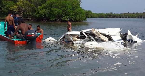 Mueren 5 personas en accidente aéreo en Honduras