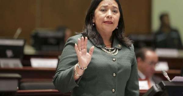 Nueva denuncia contra legisladora Karina Arteaga