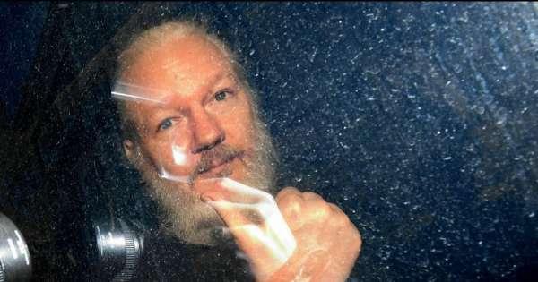 Bienes de Assange serán enviados a Ecuador