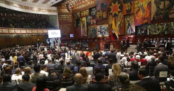 Presidente Moreno rinde su segundo informe a la Nación