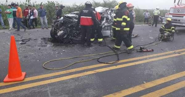 1 muerto y 5 heridos en accidente en Yaguachi