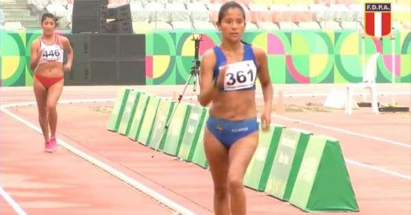 Karla Jaramillo logra oro en marcha para Ecuador