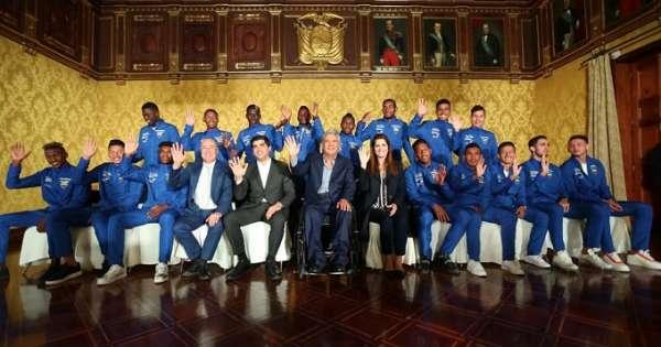 Asamblea del Ecuador rinde homenaje a la Sub-20