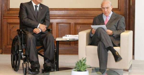 A dos meses de entrar, Moreno dialoga en la OCDE