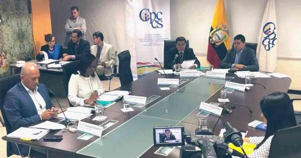 Unifican pedidos de juicio político a 4 consejeros del CPCCS