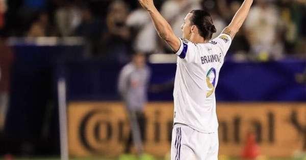 Ibrahimovic elegido 'Jugador de la semana' en la MLS