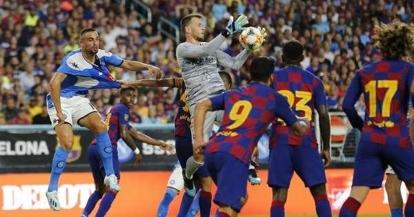 El FC Barcelona pierde a su arquero suplente por 2 meses