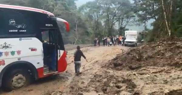 Derrumbes causan estragos en provincia de Tungurahua