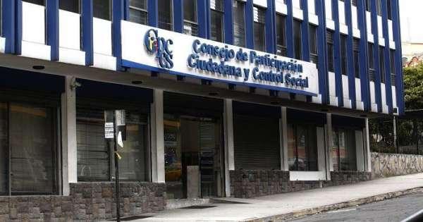 Elección de nuevas autoridades de CPCCS se daría el martes