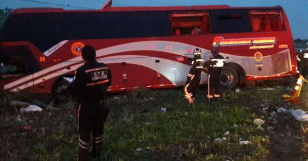 10 heridos por accidente en vía Jujan-Tres Postes