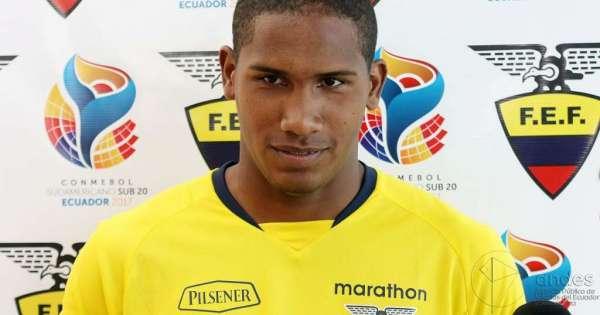 Omar Carabalí fue convocado por Chile sub 23