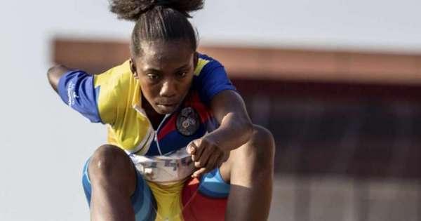 Kiara Rodríguez se lleva la de oro en Salto de Longitud