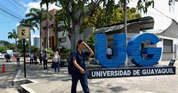 Evacúan U. de Guayaquil por alerta de bomba