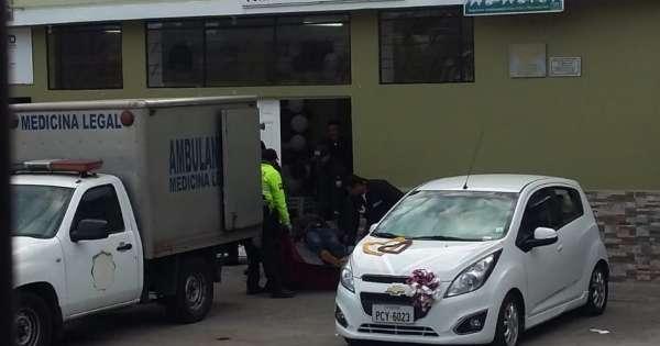 Disparan a recién casados en un barrio del sur de Quito