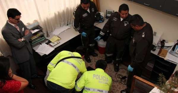 Allanan vivienda en Quito por caso de filtración de datos