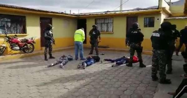 Cae banda sospechosa de atentado en boda en Quito