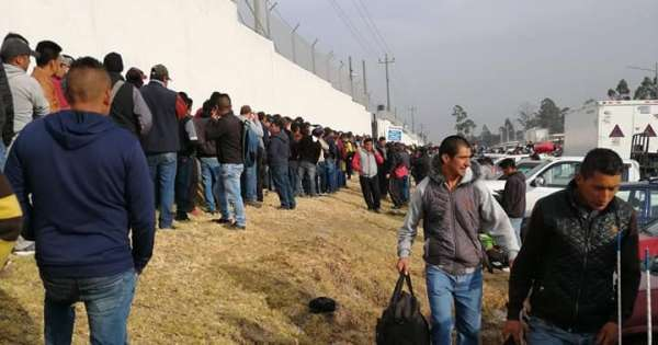 5.000 personas postulan para una vacante de 300 en Quito