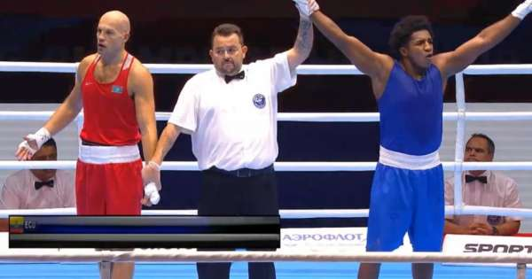 Julio Castillo clasifica a final del Mundial de boxeo