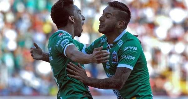 Ángel Mena anota en victoria de León sobre Necaxa