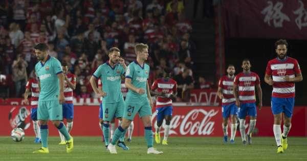 El FC Barcelona pierde y se aleja del liderato de la liga