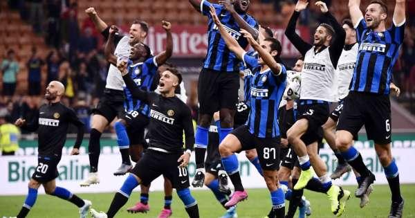 Inter de Milan sigue líder tras ganar el clásico della Madonnina