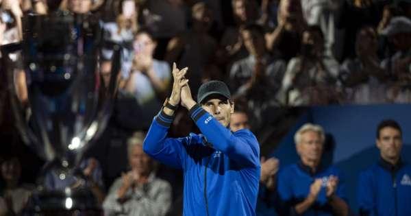 Rafael Nadal se retira de la Laver Cup por lesión