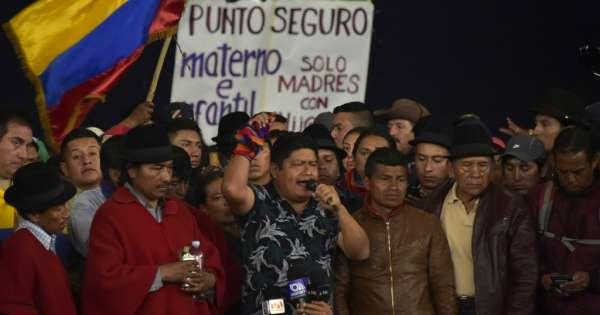 Ministerio de Gobierno denuncia a dirigentes indígenas