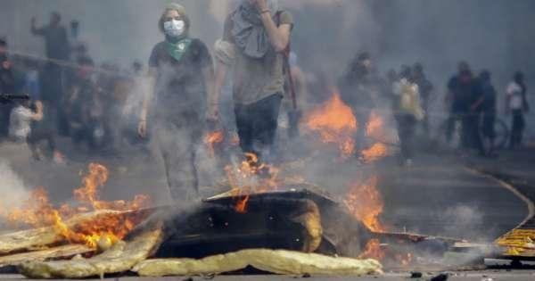 Ecuatoriano fallece durante protestas en Chile