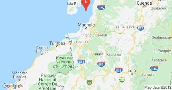 Sismo de 4.67 grados se registra en Balao, Guayas